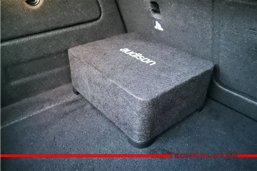 subwoofer audison apbx 8 as amplificatore impianto audio auto