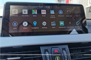 bmw x1 autoradio android navigazione tech solution