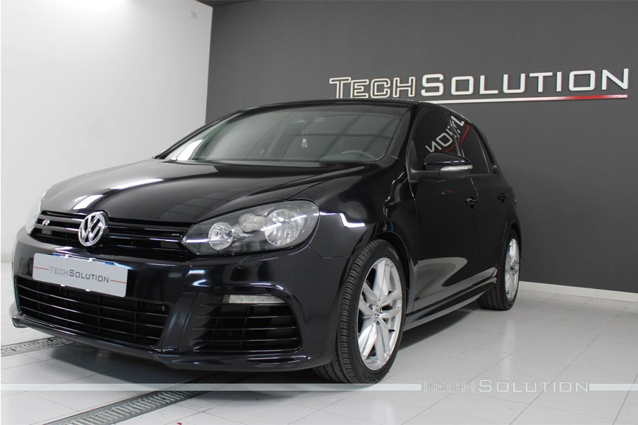 vw golf 6 nero tech solution bari anteriore
