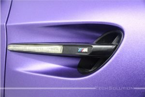 bmw serie 3 wrapping pellicola purple apa joker tech solution bari presa aria