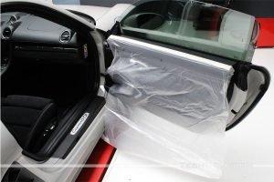 oscuramento vetri porsche-718-cayman gts tech solution bari 01