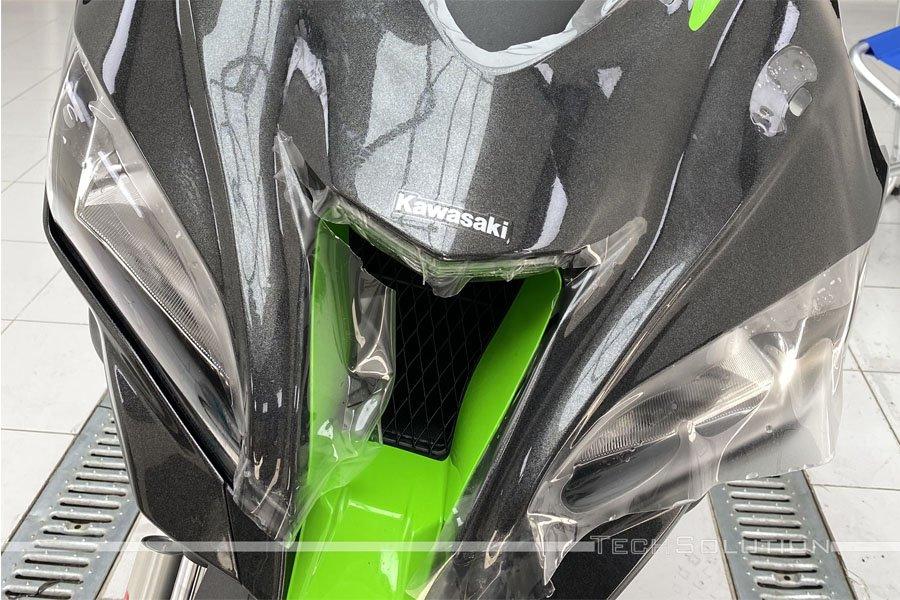 applicazione ppf pellicola protettiva kawasaki ninja zx10r tech solution bari
