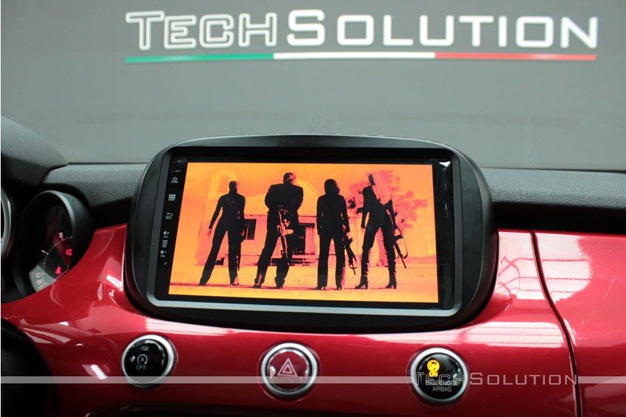 autoradio monitor android riproduzione video film car audio jf sound tech solution bari