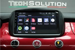 car tablet sistema multimediale android jf sound fiat 500x