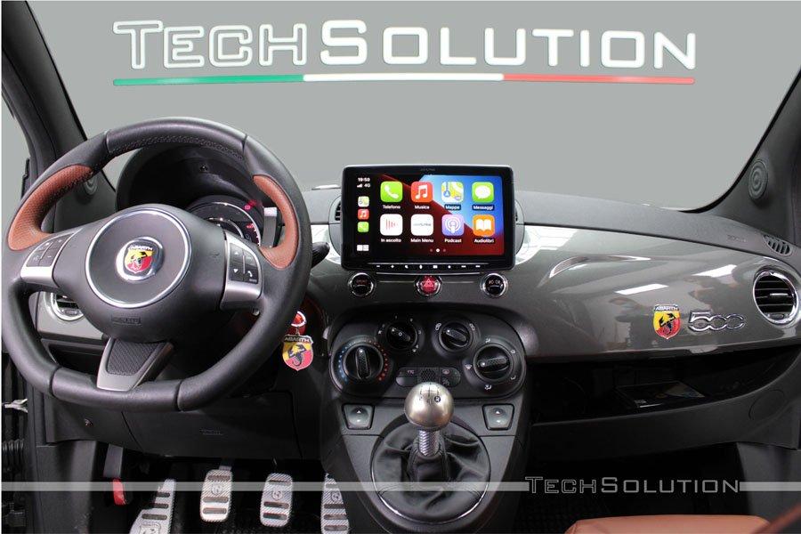 alpine halo9 iLX-F903D monitor con car play android auto dab